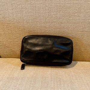 Coach Leather Travel Jewelry Case